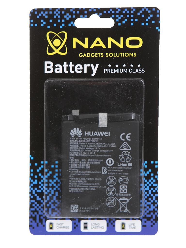 Аккумулятор Nano Original Battery для Huawei Y5 2017 III / Honor 7А 6А 2920mAh HB405979ECW