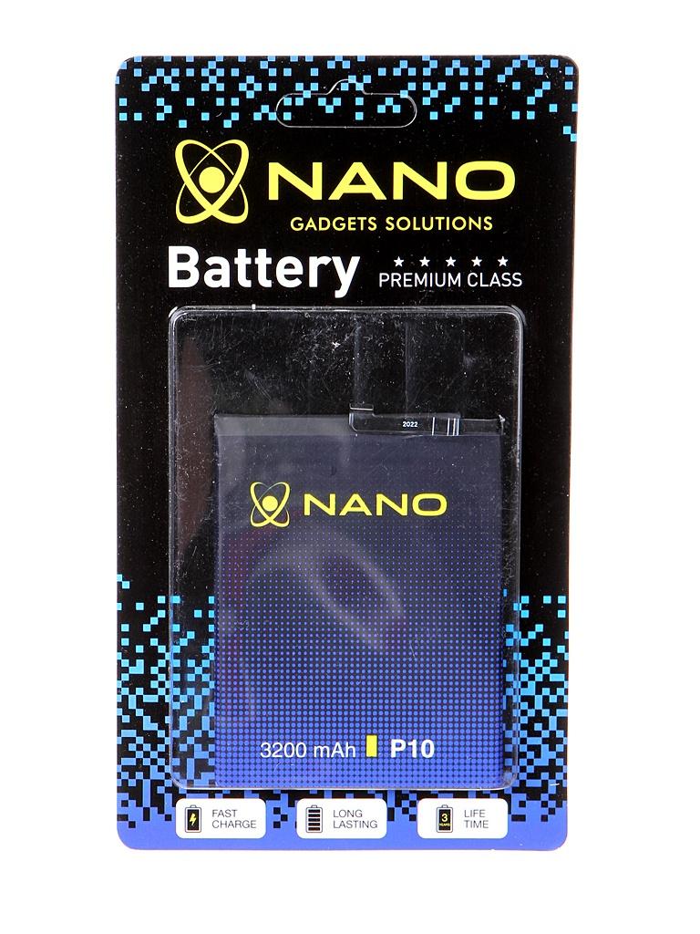 Аккумулятор Nano Original Battery для Huawei P10 / Honor 9 Premium 3200mAh HB386280ECW
