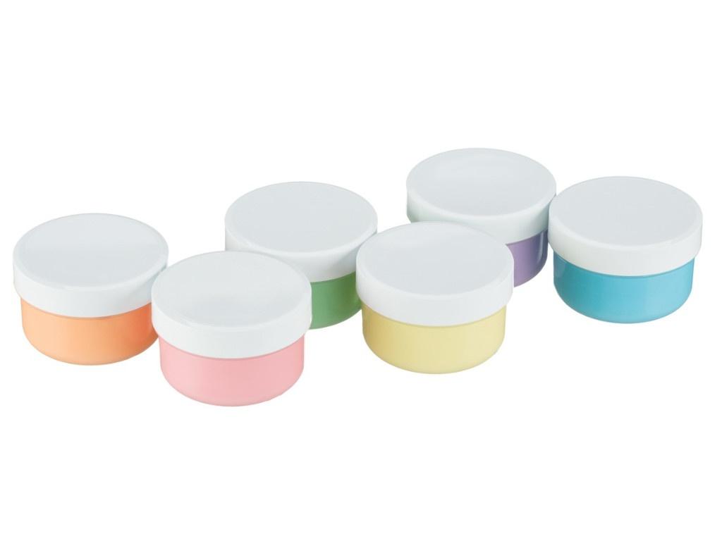 Краски пальчиковые Roxy-Kids 6 цветов по 60ml RPF-001