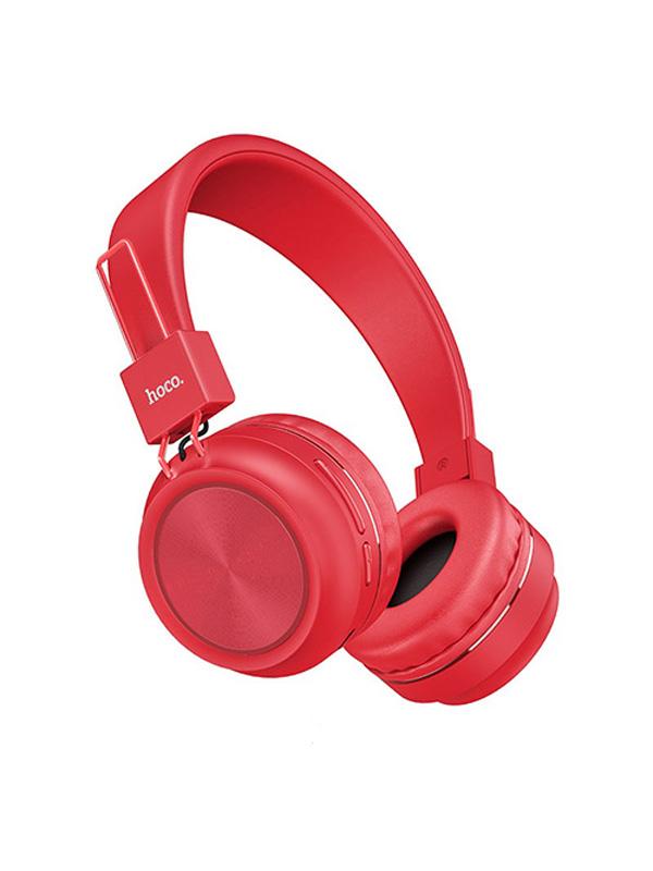 Наушники Hoco W25 Promise Red