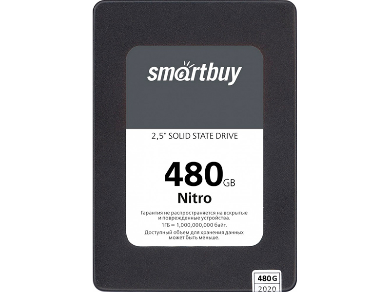 Твердотельный накопитель SmartBuy Nitro Maxio MAS0902 SBSSD-480GQ-MX902-25S3
