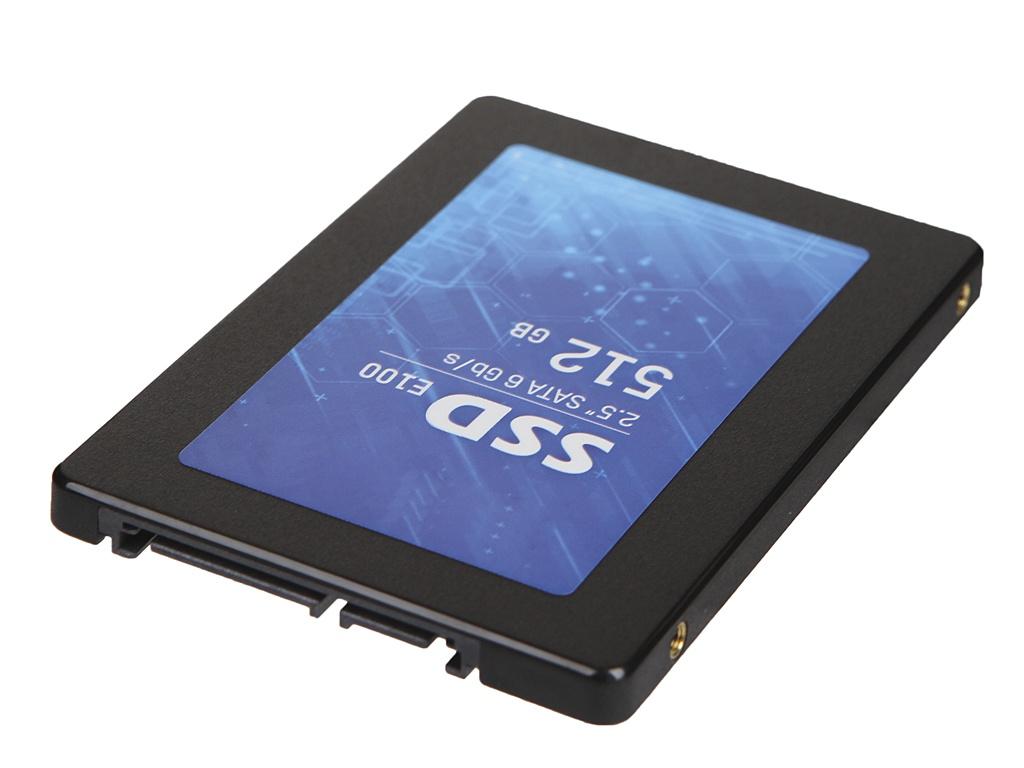Твердотельный накопитель HikVision E100 512Gb HS-SSD-E100/512G