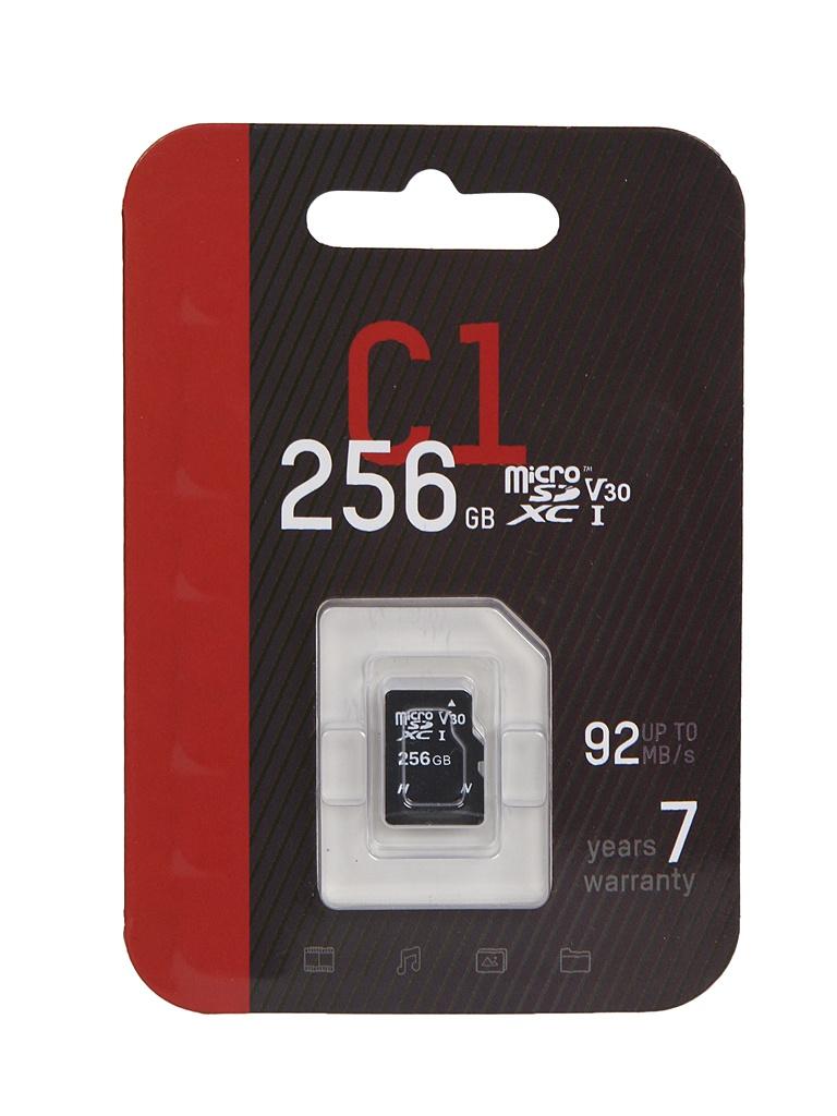 Фото - Карта памяти 256Gb - HikVision MicroSDXC Class 10 UHS-I V30 HS-TF-C1/256G видеорегистратор rayberry c1