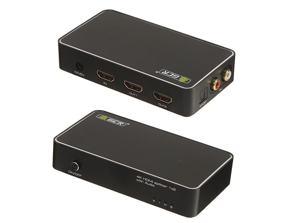 Фото - Сплиттер Greenconnect Greenline v2.0 HDMI x1 - HDMI x2 GL-v102AU galaxy gl 0904