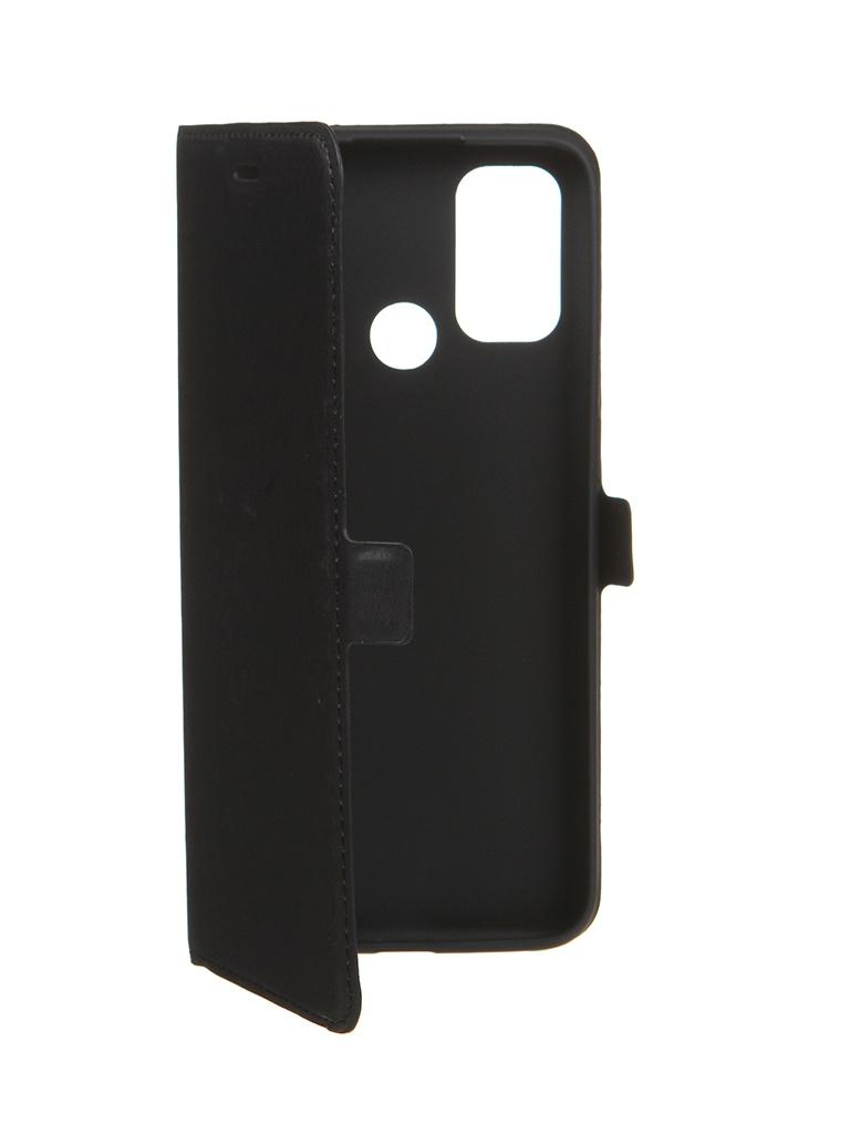 Чехол DF для Oppo A53 Black oFlip-12