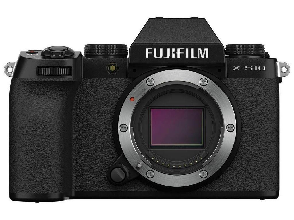 Фото - Фотоаппарат Fujifilm X-S10 Body Black цифровой фотоаппарат fujifilm x pro3 body dr silver