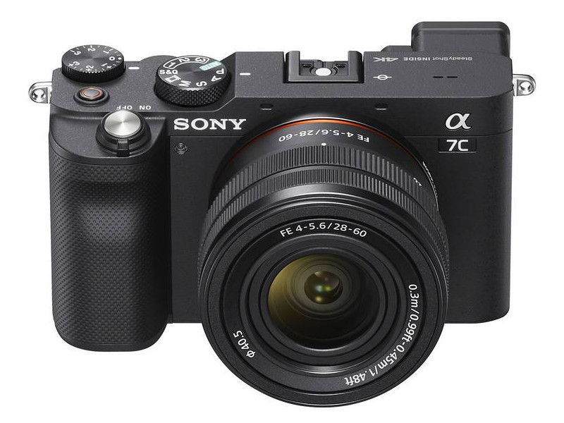 Фото - Фотоаппарат Sony Alpha A7C Kit 28-60mm Black ILCE-7CL цифровой фотоаппарат sony alpha ilce 7m2 body черный