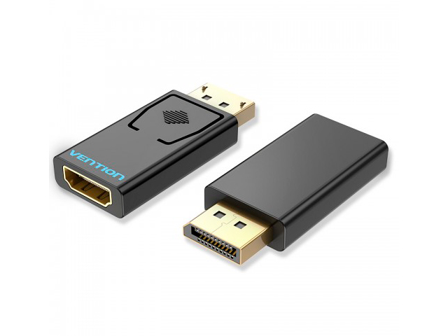 Фото - Аксессуар Vention DisplayPort 20M - HDMI F HBKB0 переходник hdmi f hdmi f vention h380hdff