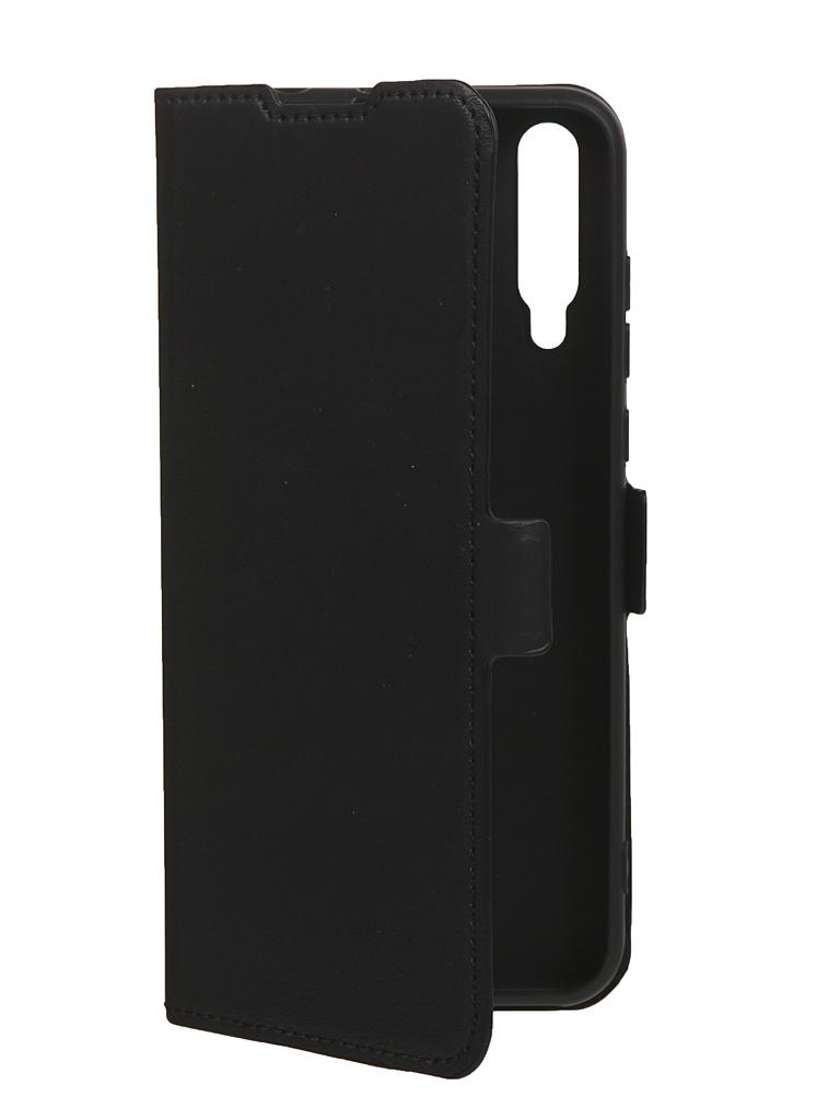 Чехол DF для Honor 30i Black hwFlip-90