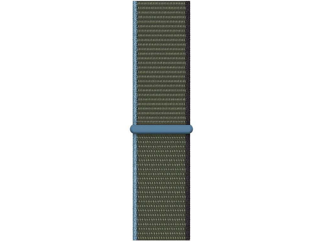 Аксессуар Ремешок APPLE Watch Series 3 / 4 5 6 SE 44mm Sport Loop Green Hills MYA72ZM/A