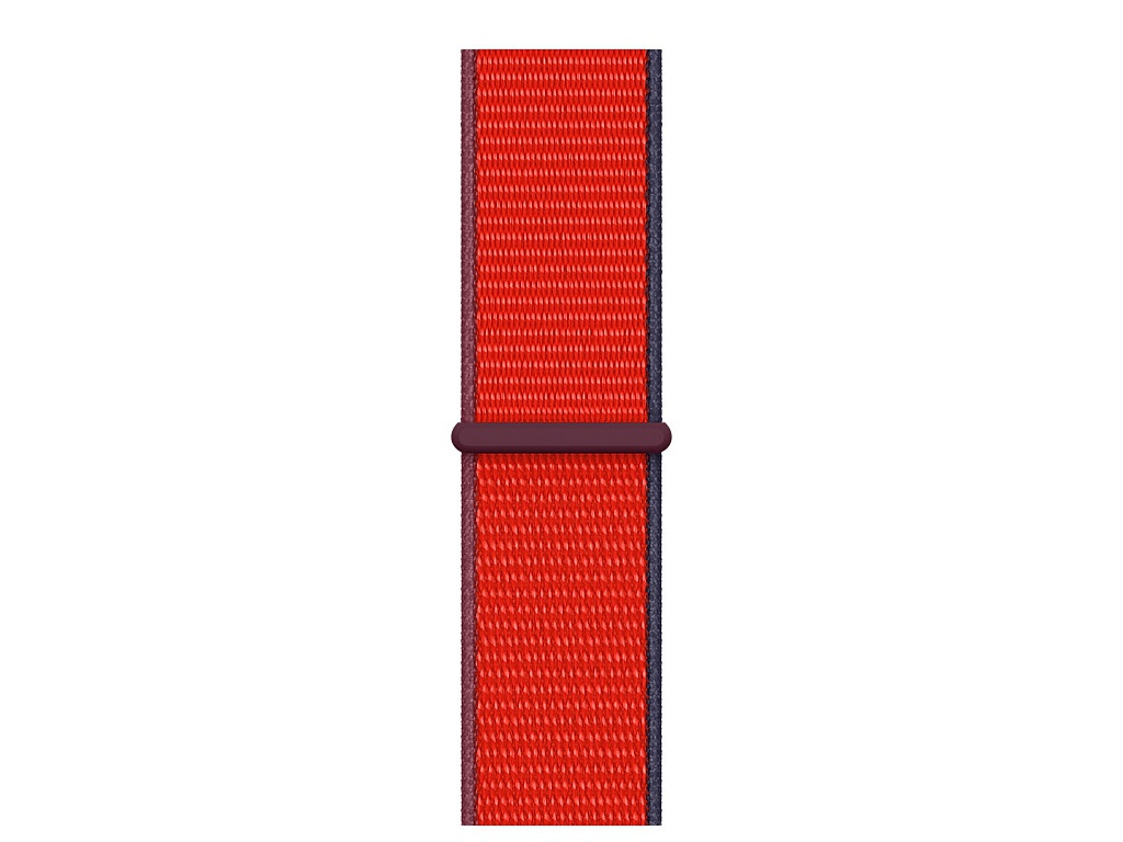 Аксессуар Ремешок APPLE Watch Series 3 / 4 5 6 SE 40mm Sport Loop Red MG443ZM/A