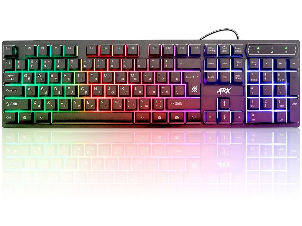 Клавиатура Defender Arx GK-196L RU 45196