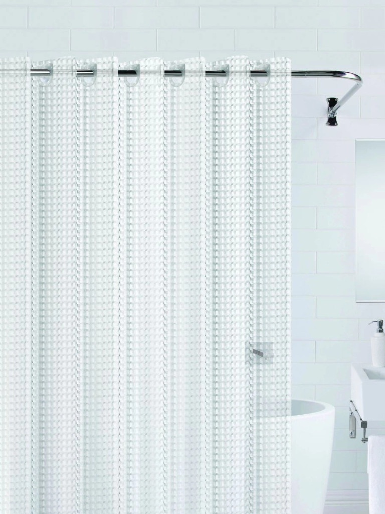 Шторка Bath Plus 3D 180x200cm Transparent NFD-3D-clear