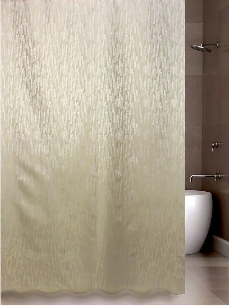 Шторка Bath Plus Paint Mark 180x200cm Cream JAC1504