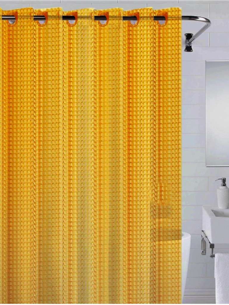 Шторка Bath Plus 3D 180x200cm Orange NFD-3D-orange