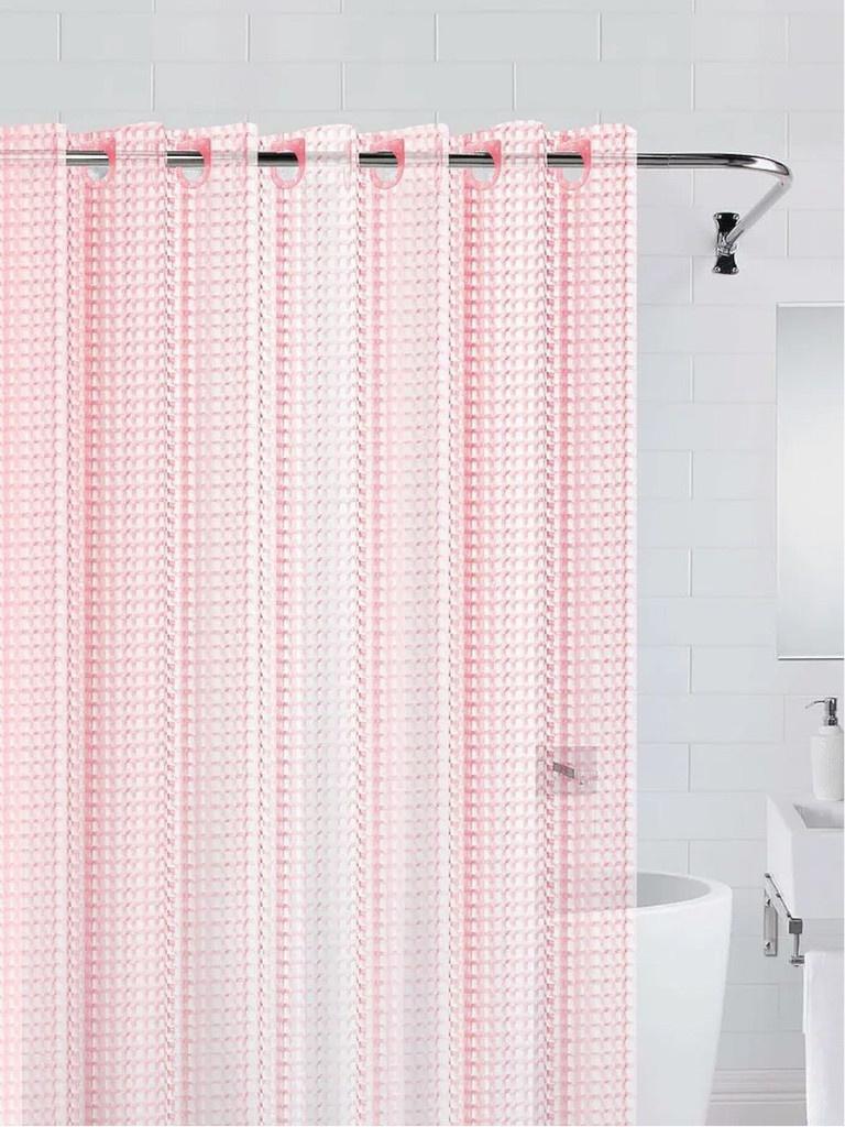 Шторка Bath Plus 3D 180x200cm Pink NFD-3D-pink