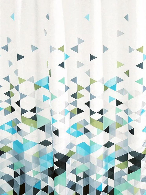 Шторка Bath Plus Triangular Sublimation 180x180cm ch-21257/0