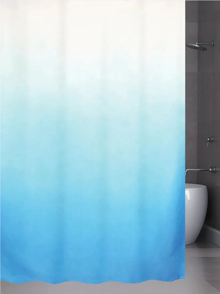 Шторка Bath Plus Rosy Down 180x180cm Blue 2151/0