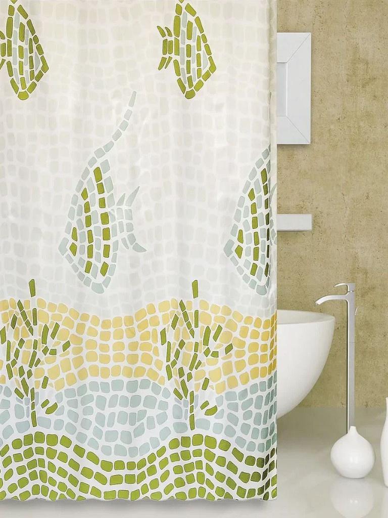 Шторка Bath Plus Ocean Mosaic 180x180cm ch-1230/1