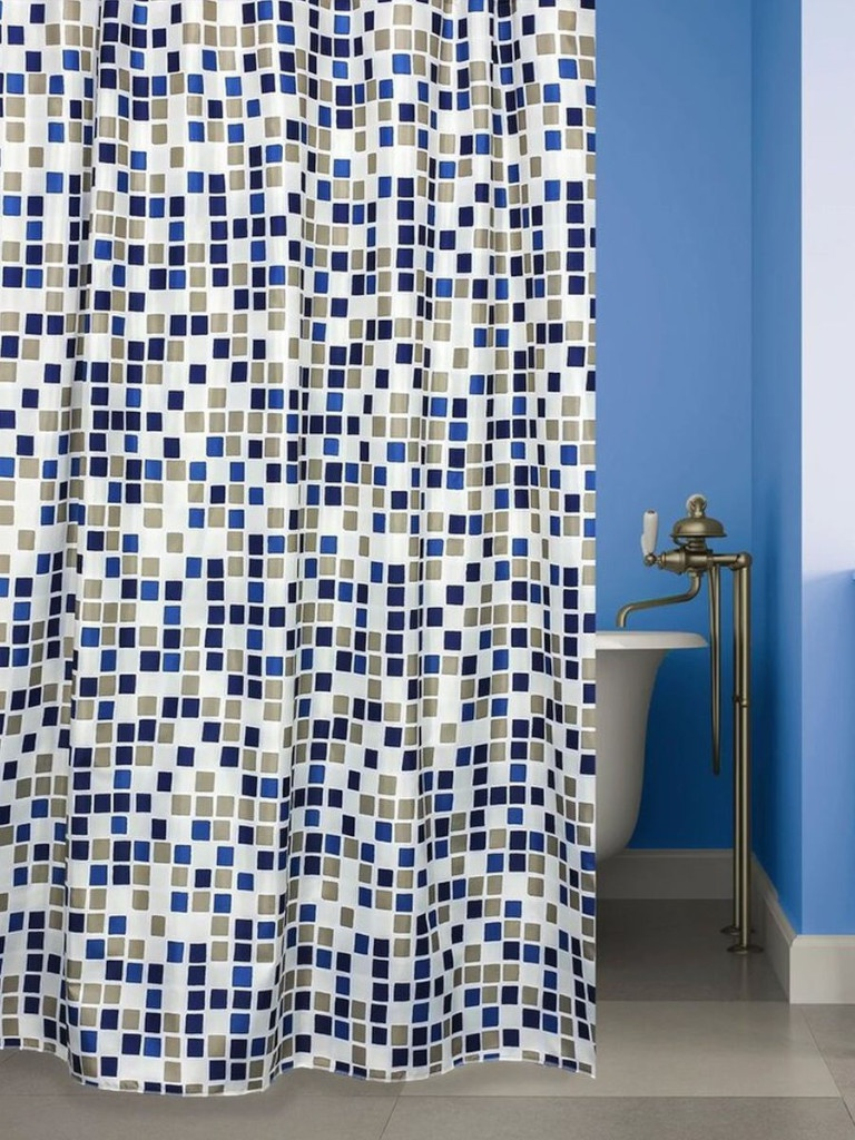 Шторка Bath Plus Mosaic World 180x180cm ch-21290