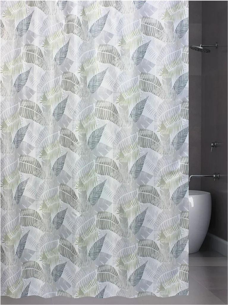 Шторка Bath Plus Leaf Rhythm 180x180cm ch-21262