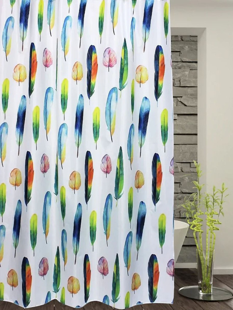 Шторка Bath Plus Color Feathers 180x180cm ch-21263