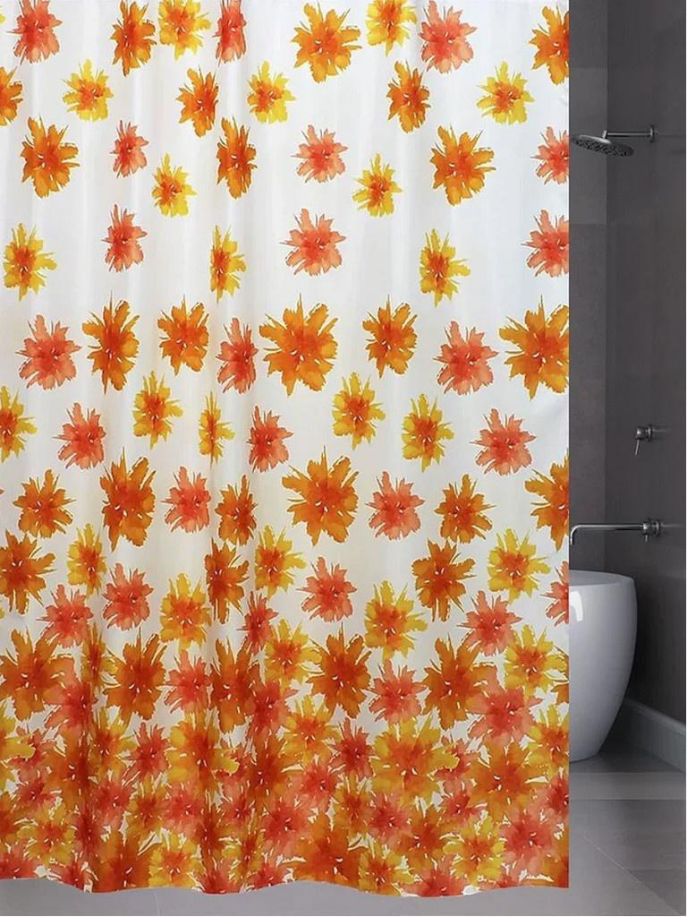 Шторка Bath Plus Blaze Flowers 180x180cm ch-13456