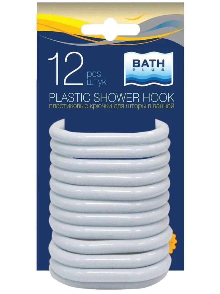 Кольца для штор Bath Plus AK-06 12шт White