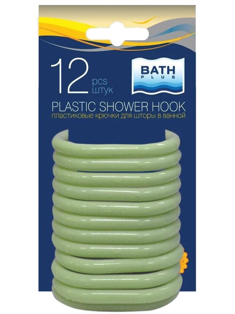Кольца для штор Bath Plus AK-03 12шт Green