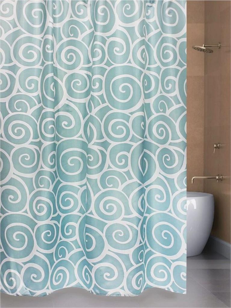 Шторка Bath Plus Snail 180х200cm Blue ch1366/0