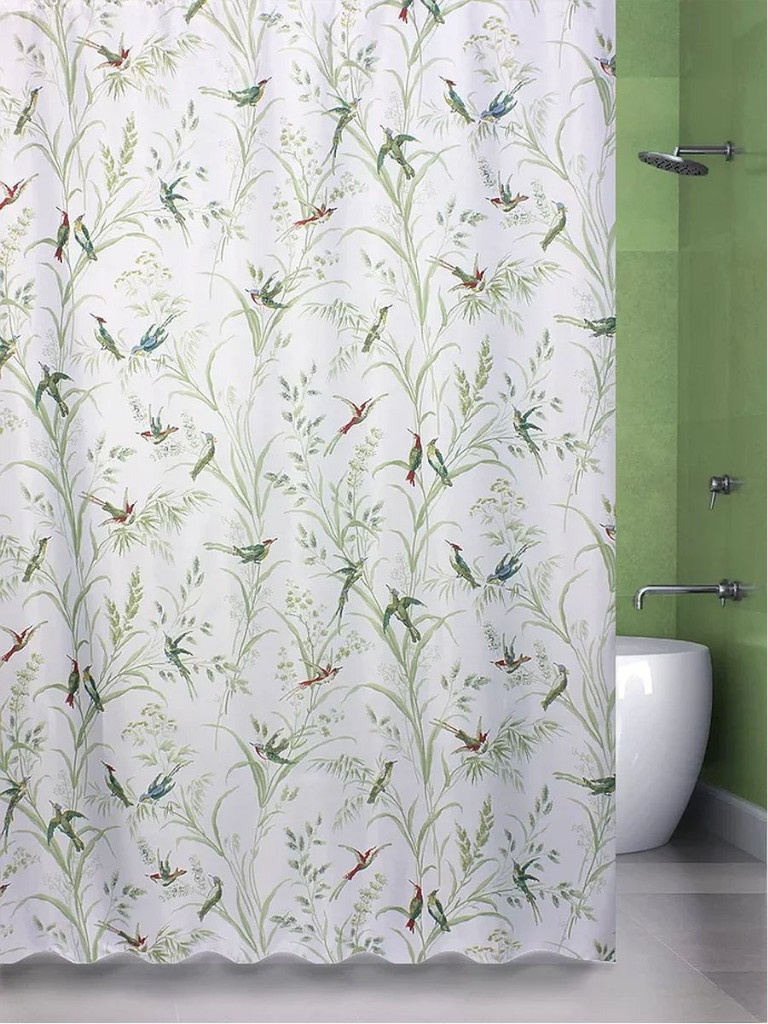 Шторка Bath Plus Birds 180х200cm ch15180
