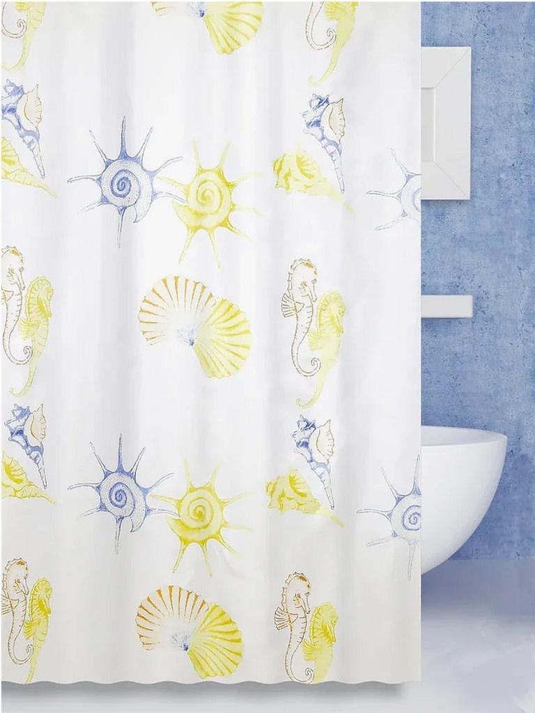 Шторка Bath Plus Scallop 180х180cm ch1351