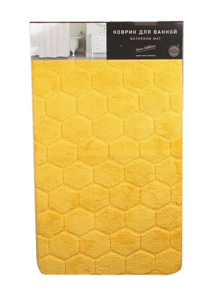 Коврик Bath Plus Лана 120х70cm Yellow GR200