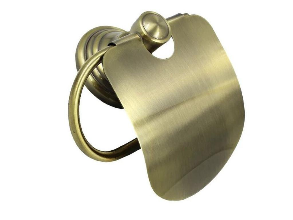 Держатель для туалетной бумаги Bath Plus Bronx Gold BXG-65710