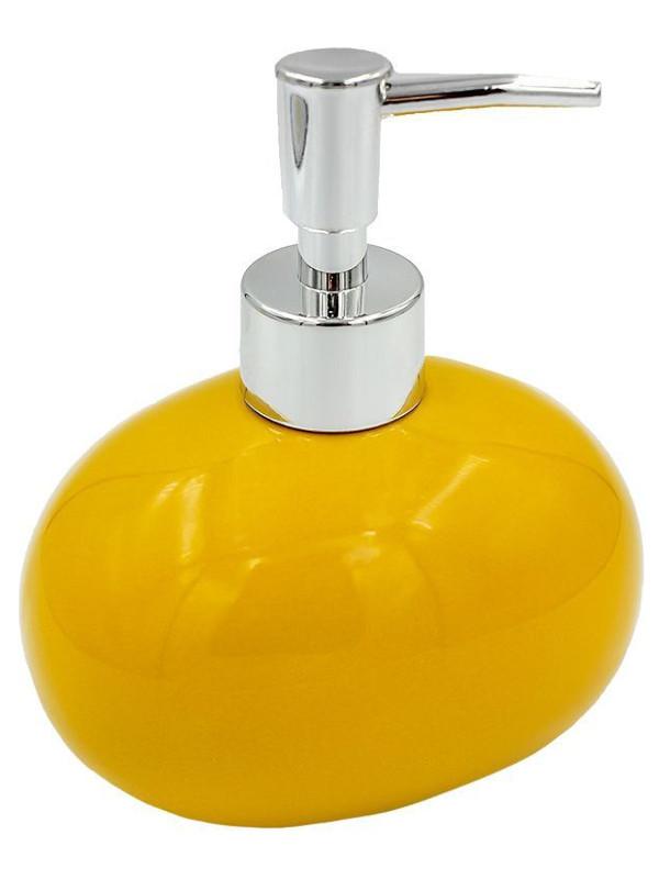 Дозатор для жидкого мыла Bath Plus Giallo W-CE0082PA-LD