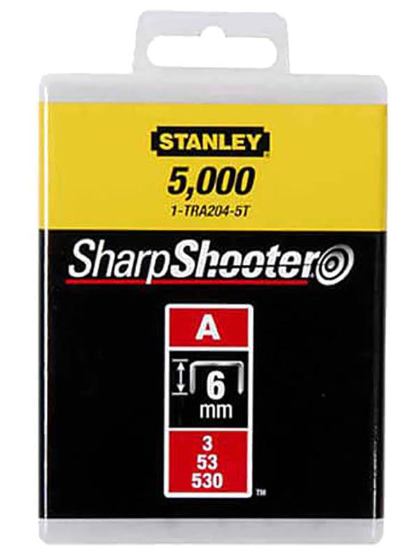 Скобы Stanley тип 53 6mm 1000шт 1-TRA204T