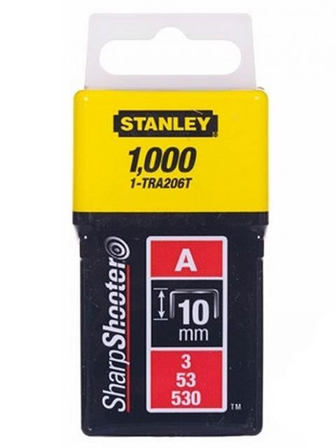 Скобы Stanley тип 53 10mm 1000шт 1-TRA206T