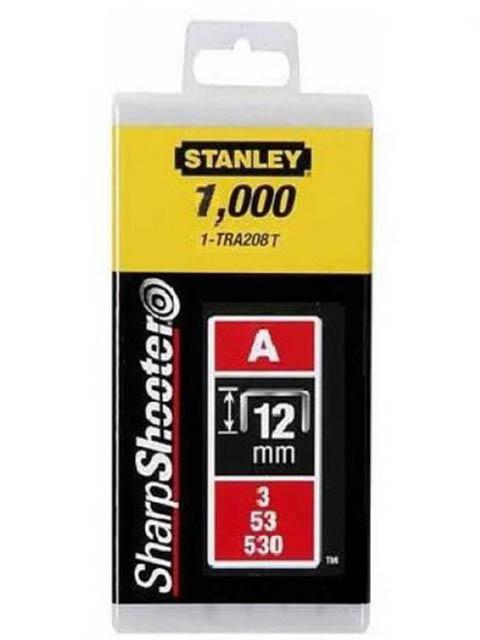 Скобы Stanley тип 53 12mm 1000шт 1-TRA208T