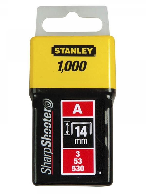 Скобы Stanley тип 53 14mm 1000шт 1-TRA209T