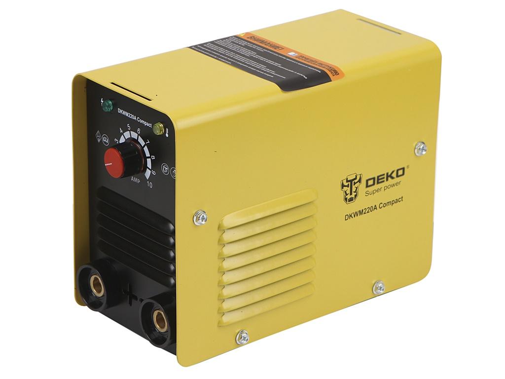 Сварочный аппарат Deko 220А DKWM220A Compact 051-4677