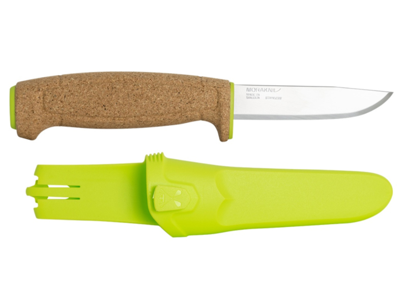 Morakniv Нож Floating Knife S Lime - длина лезвия 96мм