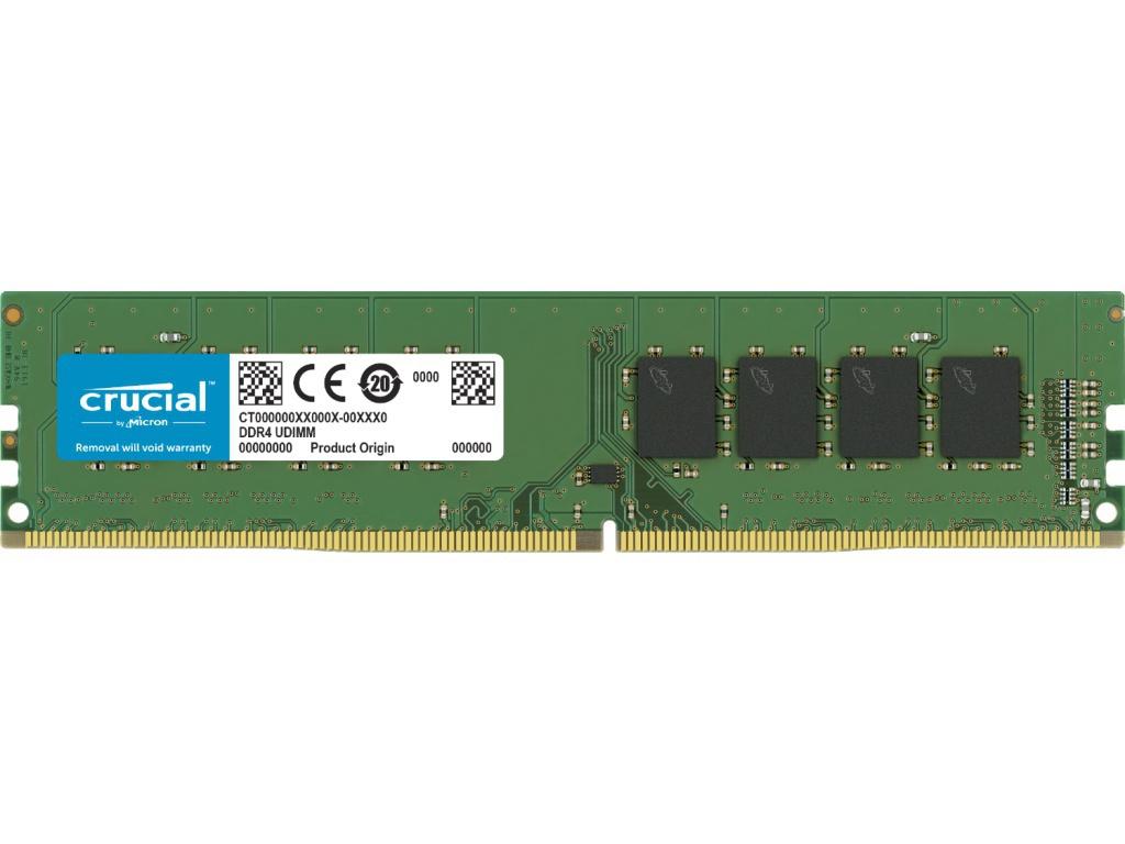 Модуль памяти Crucial DDR4 UDIMM 2666MHz PC4-21300 CL19 - 4Gb CT4G4DFS8266
