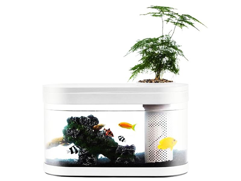 Аквариум Xiaomi Geometrc Fish Tank HF-JHYG001