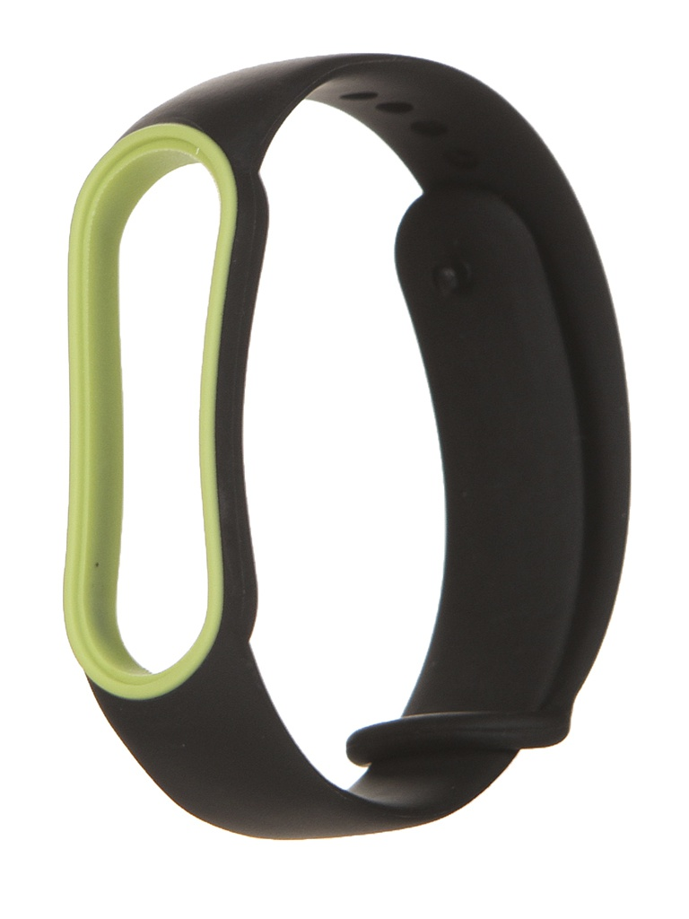 Aксессуар Ремешок Red Line для Xiaomi Mi Band 5 Black-Yellow Edging УТ000023035