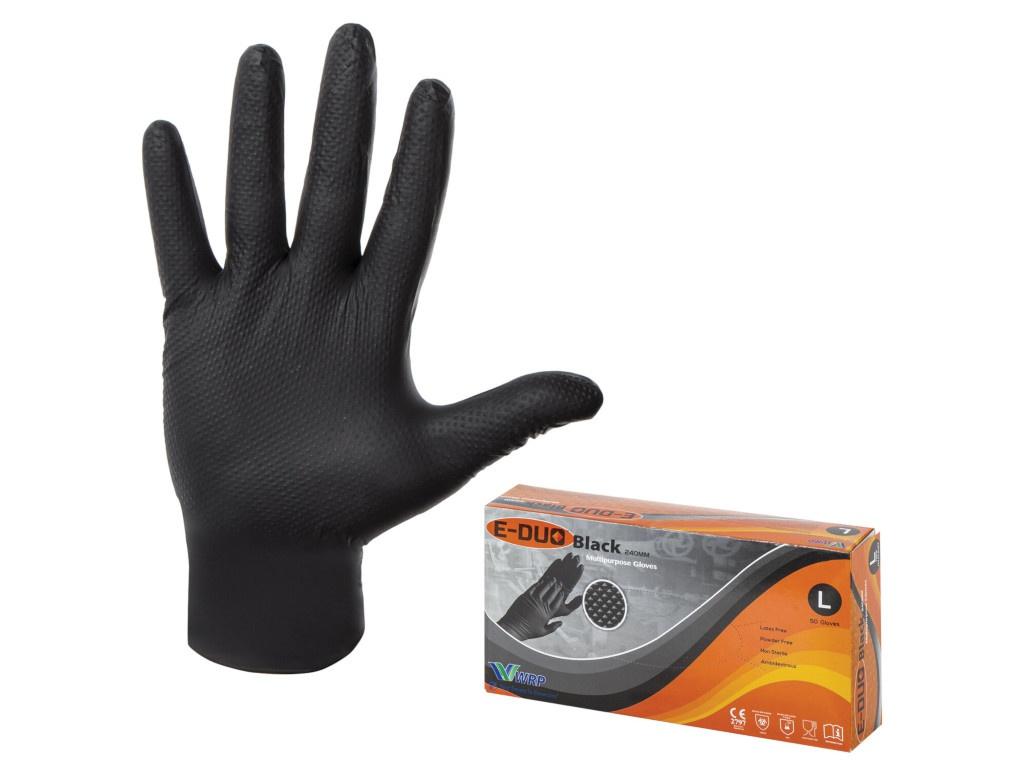Перчатки нитриловые E-Duo размер L 2