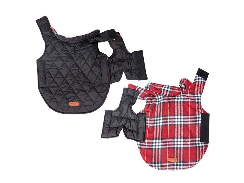Куртка для собак ZDK Petsy Шотландка S petwinshot1