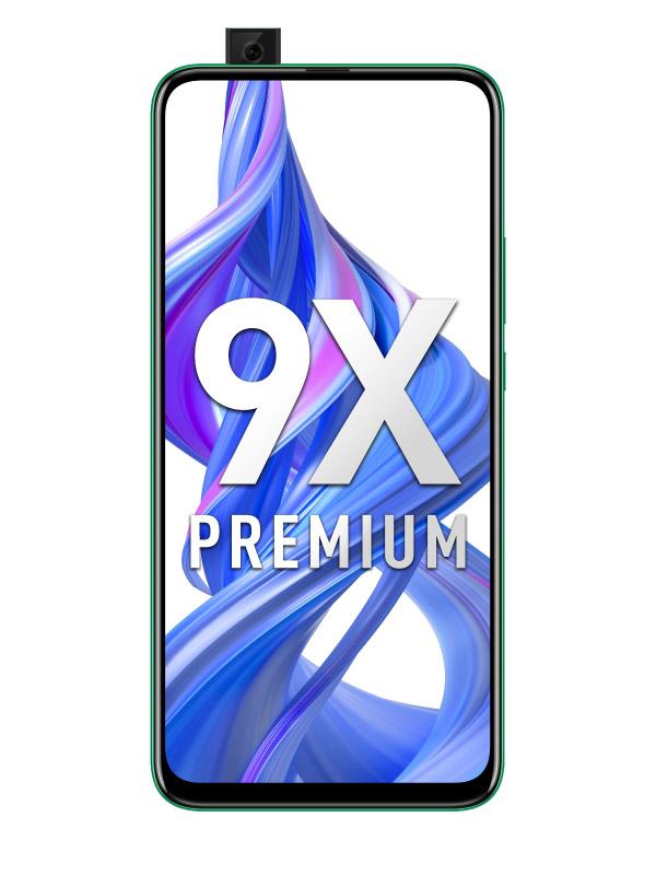 Сотовый телефон Honor 9X Premium 6/128Gb Emerald Green Выгодный набор для Selfie + серт. 200Р!!!