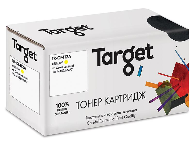 Картридж Target TR-CF412A Yellow для HP LJ Pro M452/M477 картридж hp cf413x для hp lj pro m452 m477 пурпурный