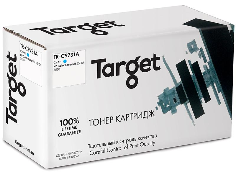 Картридж Target TR-C9731A Cyan для HP LJ 5500/5550