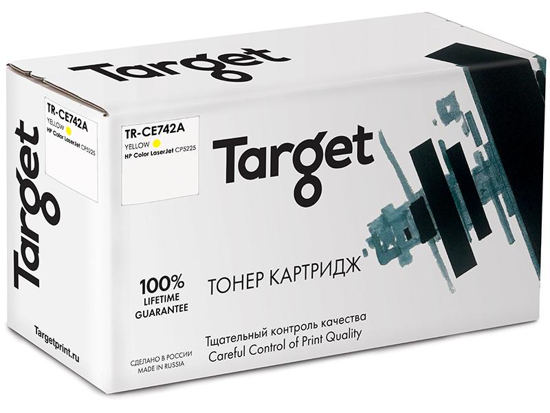 Картридж Target TR-CE742A Yellow для HP LJ CP5225